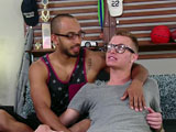 gay porn Ty Royal Tops Taylor B || Ty Royal is on a ski trip and decided to stop into the studio to make some extra cash, and Taylor Blaise is here to help him with that!  These two cant keep their hands off of each other, and the emotion only gets stronger once they lock lips and strip down.  Finally, between kisses, the pants come off of Ty and Taylor gives him some delicious oral, taking that whole cock in his mouth and sucking on his balls as Ty watches him deepthroat that dick.