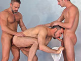 Gay Porn from TitanMen - Cut-To-The-Chase-Scene-3-Dirk-Jd-And-Dolan