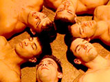 gay porn Edge Of Desire - Part  || After the guys rubbed the oil all into their bodies, they layed in a circle together as suggested by the witch doctor. Brody James was the first to fall asleep. Brody found himself in the woods being chased and stalked by Phillip Anadarko. His desires to be a sex slave have quite possibly come true. Young Brody was running for his life until Phillip caught him and demanded Brody take his shirt off. This was Brodys first time with a man and was very nervous. After being forced to throat fuck Phillip's cock, he was told to swallow the fat load. Sucking his cock clean, Phillip left Brody with the words Put yer shirt on, Ill see ya next week. Body then drifted into a room filled with his horny friends. They were laying on their backs, encircling Brody James. Brody felt pulled onto each cock, giving them a wet and slippery blowjob. After testing every single cock, he decided he liked Max Summerfield the best. As Brody stood over Max ready to go in for a nut, he drifted into the next phase of his dream. Bottoming hard for the aggressive Max. Brody had to blow Max until his cock was rock hard, and able fit in the virgin hole. Brody was getting drilled deep in his ass. Max was pounding it like a piece of meat getting tenderized. Max would dominate Brody in several positions, slapping and choking him. He finally fucked Brody hard enough to explode a monster nut... Brody couldn't believe what he was dreaming.
