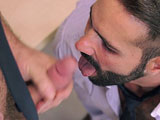 gay porn Decisions || Jessy Ares is facing a difficult decision. Due to sales being down, his boss has given him the chance to keep his job or fire his best friend, Dani Robles. Jessy decides to take the honest route and tell Dani of the choice that lay in front of him. Jessy is a married man with a family, Dani is a young and hot single guy. Dani accepts his fate but is able to see the positive in this outcome due to them no longer being boss and employee; they are now just two men who can fuck without any consequences.