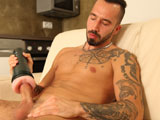 gay porn Pavel Janatka || Str8 otter Pavel Janatka strokes his thick, uncut cock & fucks a Fleshlight butt. Enjoy!
