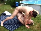 Gay Porn from BarebackTwinkz - Bareback-Poolside