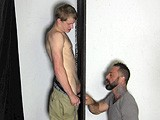 gay porn G131: Shawn || It's Been Days Since Shawn Last Drained His Balls, and This Horny Young Man Is Desperate to Shoot His Load. He Visits the Straight Fraternity Gloryhole Looking for Relief and Finds It, Getting a Spectacular Blowjob and Busting His Nut All Over the Place. He's Even Sucked Clean Before He Pulls Out.