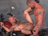 Gay Porn from TitanMen - Grease-Monkey-Scene-2-Warrick-And-Rogue