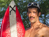 "gay porn Horny Hugo || I surfed naked here all the time! mustached, Italian surfer Hugo says with excitement, as he walks FULLY NUDE toward the waves holding his surfboard in one hand and his big, fat sausage & balls in the other. He shows everyone on the public beach his naked, tan, athletic body with pride in this EXCLUSIVE NEW Video from Island Studs. Check out this 26 year old, 6 foot, New Yorker's perfectly formed, BRIGHT WHITE surfer BUTT! Once again, Island Studs delivers another REAL STRAIGHT BUFF SURFER with a killer, ALL NATURAL BODY, catching waves naked on a public beach in Hawaii! We think Hugo is the HOTTEST SURFER yet on Island Studs. He is ALL MAN: mustached, built, hung, thick, with a set of HUGE BALLS, he plays with throughout the film and an awesome laid back beach boy personality! Hugo is just so damn yummy to watch, catching wave after wave BALLS OUT in the morning sun! There are SO MANY real unrehearsed moments in this EXCLUSIVE VIDEO from Island Studs. Don't miss this sexy surfer. Watch just how truly nervous Hugo becomes when I asked him to strip OFF his board shorts on the beach for his VERY FIRST TIME in front of any camera. Watch as he grabs his crouch holding his dick through his swim trunks, worried his cock is not HARD enough. ""Just drop my pants now?,"" he asks with a big grin as he holds his wiener in his pants.  But once this REAL, Semi-Pro North Shore surfer strips down and starts catching waves in the warm Hawaiian ocean, he completely forgets that he is nude! Feast your eyes on this dreamy, surf Stud as he walks around the beach and rocks with his surfboard fully naked, jerks his thick ROCK HARD cock beside the sea in the HOT SUN and takes a POWERFUL Donkey Piss on the beach while holding his surf board... completely naked!  It is Hugo's chill, surf culture, personality and New York accent that shines through in every minute of this video. Check out his SUPER THICK, wet dick and white bubble butt covered in sea foam as he plays in the waves. This straight surf Stud is so sexy to watch, standing up on his board riding waves toward the white sand beach in Hawaii. I ask Hugo back to my condo for a shower and to complete the jerk off scene. As I expected, Hugo becomes completely uninhibited in the privacy of the condo spreading his legs WIDE OPEN and rubbing his big, Italian, ball sack. Piss lovers alert! Hugo stands up and grabs an empty water jug and takes a LONG PEE, while standing in the living room. He squeezes his big cock with one hand and the clear vessel in the other. Watch as he nearly FULLS the jug full with his dark, yellow man PISS. Hugo sits back on the chair with his Big Red Surfboard behind him and continues jerking his cock, giving us great views of his tight, athletic, smooth body from every angle. Watch as he spreads his thighs WIDE and grabs his hairy man perineum and heavy balls! What a sexy sexual surfer! Hugo jerks his thick, hard cock with all the excitement of a horny high school jock. His hairy balls bounce up and down as he strokes his huge Italian salami. Watch as he pulls on his big throbbing cock with BOTH HANDS spread eagle on the chair.  Mustached Hugo looks like a 1970's porno star as he manhandles his HARD DICK with dark whiskers above his top lip. Listen as he moans and his whole body shakes as he nears climax! Horny Hugo moans loudly as he shoots a heavy load of jizz ALL OVER his ripped rock hard abs. Gobs of thick white CUM ooze all over his naturally smooth belly! Wow, what a massive load of cum from this HOT HAWAIIAN SURFER! Hugo laughs as I ask him to stand up for some photos, as the thick goo drips down his tight belly onto the carpet below! To clean up all the sticky cum Hugo takes a hot soapy shower with his beautiful cock swinging wet between his legs! ""Do you like Hawaiian women?"", I ask him in shower. ""That is why I am here!"", he states with a big smile as he soaps up his hairy man arm pits. What a delight to watch this sexy Italian New Yorker wash every inch of his tall, tight athletic body with soapy water dripping off his thick cock!  Real surfers are so HOT when they are all wet and naked both in the ocean and in the shower! Hugo is one of the sexiest straight talented surfers ever! Catch more naked waves for us Hugo! Enjoy this Exclusive Island Studs nudist beach surf shoot of Hugo and his THICK ITALIAN SAUSAGE!"