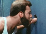 "gay porn Anonymous Glory Hole A || This 1983 Steve Scott/al Parker-directed Masterpiece Is All About Anonymous Public Sex! In This Scene, Bearded Hunk Mike Braun Gives a Blowjob Through a Glory Hole to Blonde Bottom Chris Burns. They Suck Each Other In Turn and Cum All Over the Floor and Stall Wall. ""romantic and Sleazy... Shrewd, Believable, and Primal... a Must for the Permanent Collection."" - Manshots"