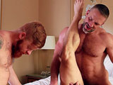 gay porn Pretty Boy Part 3 || When his business deal with Dirk caber turns sour, John Magnum confronts pretty boy Bennett Anthony. Bennett knows nothing so Dirk has John get on his knees and suck Bennetts fat cock. John gets his perfect, round ass pounded by Bennett while he has his throat stuffed by Dirks big dick. John flips to his back so Dirk can slam him hard hard while Bennett fucks his face.