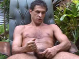 "gay porn Dirty Drew || Drew is a dirty, dairy Farmer from Milwaukee with a naturally furry chest and legs, a big wide straight guy butt and saggy, low hanging nuts in this Exclusive new video from Island Studs. This nice curly haired Jewish boy with a full bush of dark dick hair, loves the outdoors and working naked on the farm! While this is Drew's first nude shoot, he is comfortable with me and while performing naked garden work for our cameras. I first put Drew to work stacking heavy cement blocks in the driveway. This horny nudist blue collar farmer sits down on the cinder blocks outside and starts to jerk off while I am away! Watch as Jerking Drew plays with his dick head - delicately caressing his pink cut cock head with his dirty farmer hands and his strong veiny forearms as his big ball sac dangles below the cement blocks.  If you have ever wanted to spend time with a great looking Jewish country boy sporting a thick body and a beautiful dick, check out Drew's first JO video. This Island Stud is one handsome naked farmer! This handsome laborer walks fully naked down the driveway only wearing sandals on his very dirty feet! For his second naked job, I put him to work pulling weeds in the tropical garden. Watch how dirty Drew gets as he rips up the tall weeds in the garden with his bare hands. This filthy farm boy, loves being watched as he does his naked work! The camera captures Drew's tall tan body from every angle as he bends over repeatedly to grab the soil. His heavy ball sack slaps against his ass checks as he works naked! ""Can I piss on the citrus tree?' Drew asks with a smile, 'they love it"". Listen to Drew explain which plants in our garden like to be pissed on, as he holds his cock with his dirty hands and releases a strong pee onto the flowering Orange Tree! What a filthy farmer! Finally Drew sits down in a chair outdoors in the garden and enjoys his beautiful Jewish cock! ""It's been weeks since I jerked off outside,"" Drew confesses. Once again, this dirty dairy farmer plays with his dick head and cups his big ball sack as he jerks his swollen stick! Drew moans and makes a crazy cum face as he releases a big stream of cum all over his tan belly and filthy hands.  His hairy crotch and balls are covered in his own Man Juice! Drew's sexy shower scene is unique. He takes extra time in the shower room, scrubbing his dirty feet and hands. He visually enjoys all the hot water on his hairy man body. Watch as he spreads his ass checks wide and bends over to allow the hot shower water to beat down on his open ass hole! This is all real unrehearsed Island Studs behind the scenes photography at its best.  We are pleased, this Wisconsin Dairy Farmer has come to the Islands for some naked fun in the sun. This sweet Jewish blue collar guy with the naturally furry body is not to be missed."