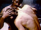 gay porn Vintage Interracial Sh || Mr. Bare America Winner Dennis Walsh Stars as a Good-looking, Resourceful New York Actor and Part-time Hustler In This Excellent 1976 Jack Deveau Film, Wanted: Billy the Kidd. This Scene Features Walsh and a Handsome Black Trick Rolling Around In Bed In Jockstraps, Then Kissing, Fucking, and Sucking In the Shower.