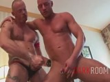 gay porn Two Studs Want Matt's Hole || Fistmaster Matthias Von Fistenberg Sucks Off Two Tattooed Studs.  These Muscled Studs Stretch Out Matt's Hole and Really Get Him Warmed Up, Giving Him a One-two Combination.  Matt's Greasy Hole Is Fucked Hard by Each of the Dude's Throbbing Cocks.
