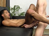 gay porn R185: Bb First || Drew Guides Cameron Through His First Scene With Another Dude. He Sucks Cameron's Cock and Rims Him, Then Lubes Up His Hard White Dick and Lets Cameron Fuck Him Bareback. It's New to Cameron, Who Tries His Best to Fuck Drew's Ass Hard. He Pulls Out and Shoots a Huge Load All Over Drew's Tight Hole and Smooth Cheeks, Then Stuffs His Cum-coated Cock Back Inside Him.