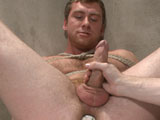 gay porn Connor Maguire || Hunky Officer Maguire has his thick cock edged while experiencing the electric butt plug up his ass for the first time!