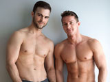 gay sex porn Gabriel Clark Fucks Darius Fer || There couldn't be a better pairing than Gabriel Clark and Darius Ferdynand -- it was just a matter of time before these two gorgeous hunks met up and fucked! Gabriel's known for being a charming yet brutal top, and Darius has the textbook definition of a perfect body. Together, they're like two unstoppable Greek gods playing off each other's strengths!
