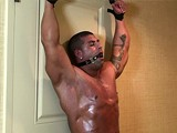 gay porn Huge Hunk Bound || See More on Frank Defeo Bondage Web Site