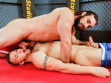 gay porn The Singlet Life || As Jaxton Wheeler & Chris Noxx spar on the wrestling mat, it becomes rather obvious immediately who has the upper hand. Jaxton, the bigger man of the two, conveys a swagger that conveys confidence and control, while Chris works for every opportunity available, only to have Jaxton use his brute strength to ultimately force his opponent into submission. Jaxton thrives on submission, and his need to control extends beyond just wrestling. So when he spies a hard on located in Chris shorts, he seeks to dominate him there as well. Stripping him out of his singlet, Jackson hovers over Chris as he begins to take Jaxtons hard cock into his mouth. Jaxton puts his hand on the back of Chris head and pulls him in closer, shoving his cock down Chris throat before turning him over right there in the middle of the gym and having his way. Chris takes Jaxtons pounding like a good bottom boy, as Jaxton shows no mercy, bending Chris over up against a wall, and then flipping him over onto his back, pounding him without concern before dousing him with a victorious load that leaves Chris covered in cum and hell bent on besting his friend, even if its the last thing he ever does.Enjoy!
