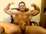 Hairy Body Webcam Show ||