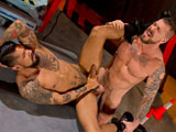 Gay Porn from RagingStallion - Boomer-Banks-And-Rocco-Steele