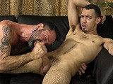 gay porn R190: Bronson Stone || Bronson Stone Says He's Willing to Do What He Needs to to Break Into Porn, but Like Assholes, Limits Take Time to Stretch. He Refuses Rimming and Pushes Away Fingers Today, but Still Enjoys a Little Foot Worship and an Amazing Blowjob From Another Guy. Who Doesn't Like a Swallower?