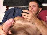 gay porn Nolan || We love seeing sexy Nolan stroking the cum from his big straight boy cock!