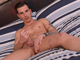 gay porn Nathan Hope || Nathan is a very handsome and lean guy with a great uncut cock to play with