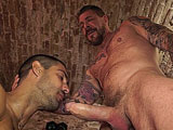 gay porn Rocco Steele And Aleja || This is a real highlight. Muscledaddy Rocco Steele and Superbottom Alejandro Dumas in their best scene this year. We brought them together in an atmospheric cellar that is an after hours club hotspot in Barcelona at the weekends.