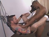 gay porn Ardon, Markus And Nath || Cum Whore Ardon Sets Up His Sling In His Room During Dc Leather Weekend.  Red Headed, Big Dicked Nathan Steel Is the First to Show Up and Dump a Hot Load In His Hole.  Markus Sloshes Around In Ardon's Cum Filled Hole and Stretches It to Its Limit With His Mega Thick, Long Black Cock.