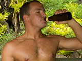 gay porn Hunky Hank || Hunky Hank - Smooth Hung Muscle Stud Jerks Off in his Jeep Outdoors in Hawaii!