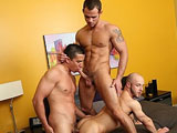 Gay Porn from ChaosMen - Bjorn-And-Cooper-Reed-And-Pax