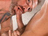 gay sex porn Dallas Steele And Dirk Caber || Working up a sweat moving into Dirk Cabers new home, Dallas Steele wants to help his bud break the place in. Ive been watching that hardon all day! smiles Dirk, who soon has a big Dallas dick in his mouth. God you smell good! smiles Dirk, who deep throats Dallas. Dirks boner is set free, rubbing against Dallass chest before diving into his lips. Dallas takes out Dirks balls (Pull those outta there!) and grips them as he sucks, the two slapping and spitting on each other as their verbal exchange heats up. Dirk feasts on Dallass smooth hole, the action caught in the hallway mirror (Fuckin eat that ass! Get that tongue in there!). They kiss, cocks poking each other, before Dallas eats Dirk, gripping the studs cock as he tongues him. Get a finger in there! yells Dirk as Dallas slides one in, flashing a gorgeous smile. In the bedroom, Dallas offers his hole as Dirk fucks him hard and fast in two positionsDirk gripping the bottoms cheeks to hammer him from below. Dallas returns the favor, pinning Dirk to the bed (Nice and deepyou feel that cock?) as he reams his ass. Fuck it out of me! yells Dirk, soon soaked in cum.