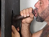 gay porn G150: Joey || Joey Heard a Couple of Buddies Talking About the Straight Fraternity Gloryhole, and One Afternoon When He Was Super Horny, He Secretly Headed Over to Check It Out. Most Girls Can't Deepthroat His Big Black Cock, but That's No Problem At This Gloryhole.