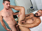 gay porn Bedside Manner Part 3 || Brett hates doctor visits they make him extremely nervous especially when he's not sure what's wrong with his bulging cock. After some fidgeting Dr. Romero comes into the room for his examination. Brett isn't too sure what tell the doctor...