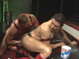 gay porn Gut Punch || Frank Valencia Takes No Prisoners When Showing John Rodriguez What He's Made Of.  After Plunging His Throbbing Dick Down John's Throat, Frank Starts Tearing Up John's Hungry Hole With His Fists, Showing Him What a Good Gut Punch Really Feels Like.