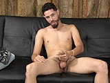 gay porn A097: Zee's Audition || Zee Has Got a Bulge In His Shorts From His Big, Uncut Cock. He Looks Into the Camera While He Beats Off and Lies Back to Shoot a Big Load on His Smooth Stomach.