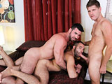 gay porn Tomorrow || Peter has fled to his good friends house Billy who was kind of enough to take him in after the break up with Alessio. Billy conveys to Peter that he can stay as long as he wants and no rush. Peter arrived late so Billy and his BF Braxton are...