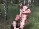 gay porn Filthy Forest Pigs Par || Hot European Men In the Middle of the Berlin Forest Pissing, Fucking and Just Having a Good Piggy Time. Jorge Balantinos Sucks Off Muscle Bear Alex Ryder's Thick Un-cut Cock. David More and David Novak Have a Hot Three Way Piss Scene With Jason Banks.