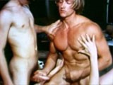 Muscle Worship Threesome