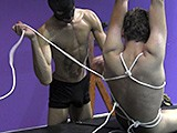 Gay Porn from badboybondage - Teased-Escape-Flogging