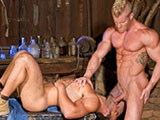 Gay Porn from RagingStallion - Johnny-V-And-Dorian-Ferro