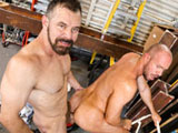 Gay Porn from menover30 - The-Right-Job-For-His-Tool