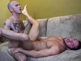 Gay Porn from AllAmericanHeroes - Petty-Officer-Cam-Nails-Lieutenant-Zach