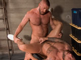 Gay Porn from TitanMen - Jailbreak-Jailer-Hunter-Marx-Fucks-Inmate-Drake-Jayden