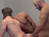 Gay Porn from GuysInSweatpants - A-Live-3-way