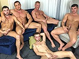 Gay Porn from JasonSparksLive - Muscle-And-Bareback-Crossover