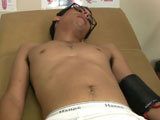 Gay Porn from collegeboyphysicals - Angel-Thomas-Sprains-His-Knee-Part-1