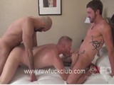 Gay Porn from RawFuckClub - Threeway-Raw