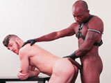 Gay Porn from NextDoorEbony - Taut-Leather