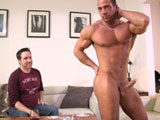 Gay Porn from Maskurbate - Full-House-And-A-Mouthful