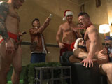 Gay Porn from BoundInPublic - Rex-Cameron-Vinnie-Stefano-And-Connor-Maguire