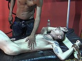 Gay Porn from badboybondage - Tied-Down-Twink-Gets-Whipped
