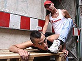 Gay Porn from spritzz - Scally-Fuck-In-Ruins
